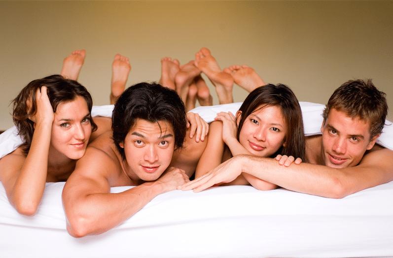 Секс обмен партнёрами в россии