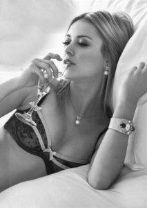 Sexy Wine Drinker